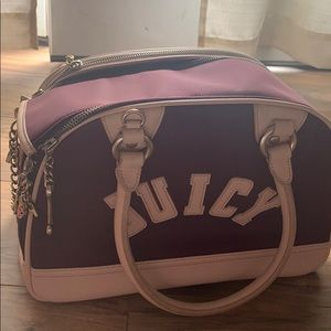 Real juicy couture dog carrier